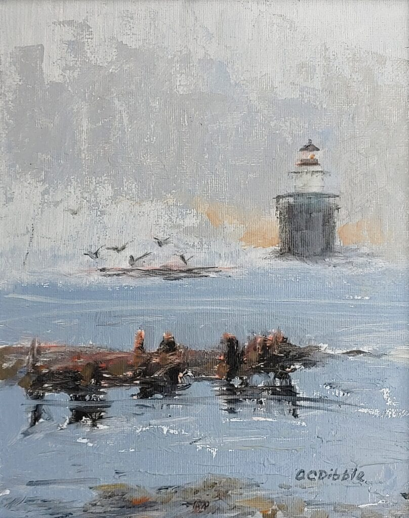 Plein air painting 10 x 8 inches Product number 4629 Product image