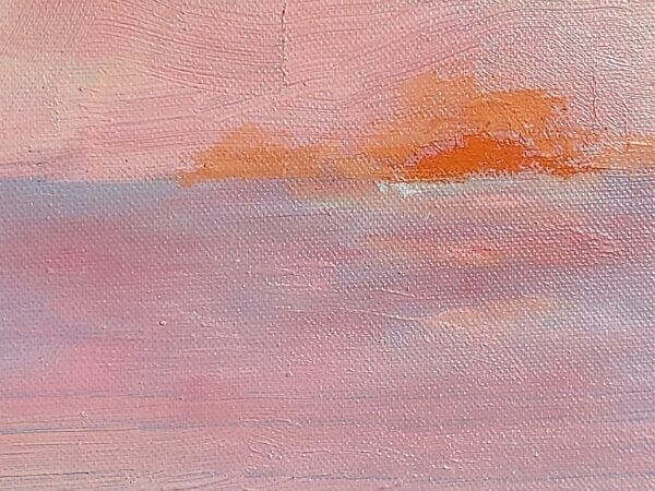Dibble, Alison C._Glorious dawn, oil on canvas 36 x 48 inches